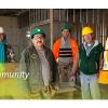ICR building community — literally