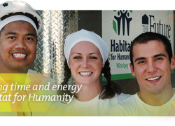 ACU Employees donating their time and energy to Habitat for Humanity