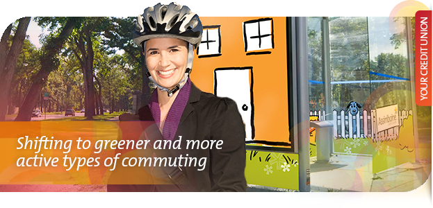 Shifting to greener and more active types of commuting