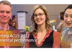 Highlights of ACU's 2012 environmental performance