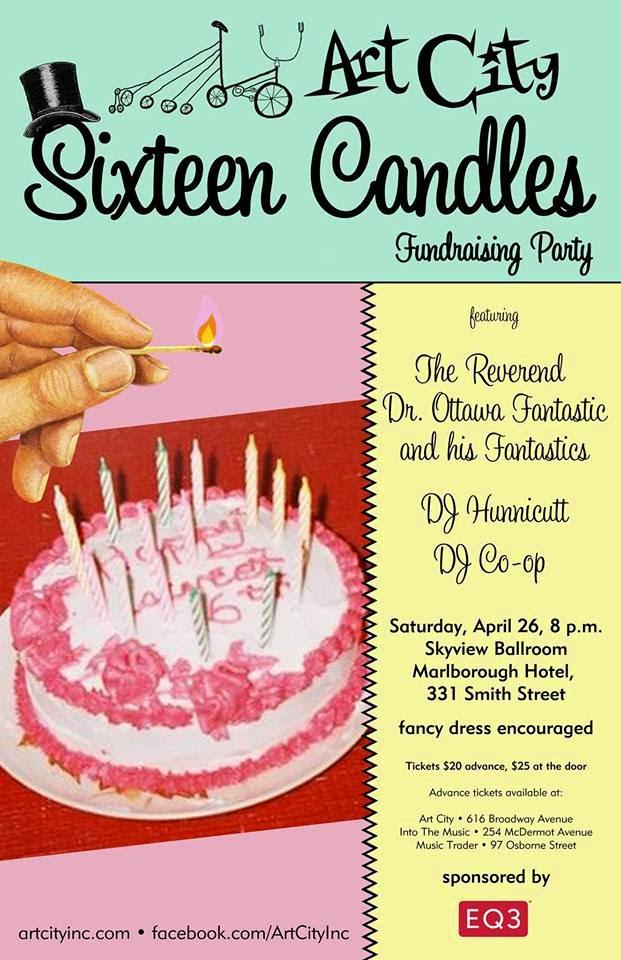 Art City Sixteen Candles poster