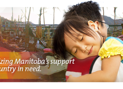 Recognizing Manitoba's Support forTyphoon Haiyan