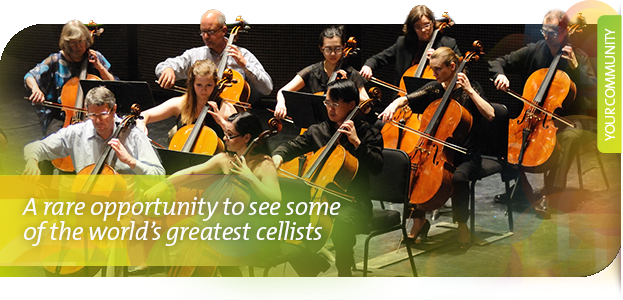 Agassiz Music's International Cello Festival is Back