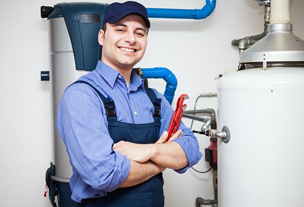 Qualified repair man during heating season