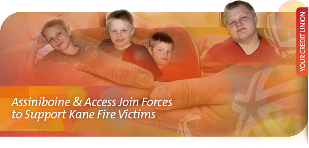 Assiniboine & Access Join Forces to Support Kane Fire Victims
