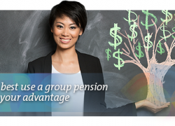 How to use a group pensin plan to your advantage
