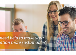 Do you need help to make your organization more sustainable?