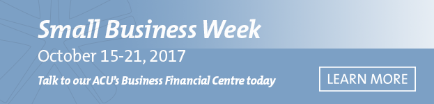 Small business week - BFC Call to action