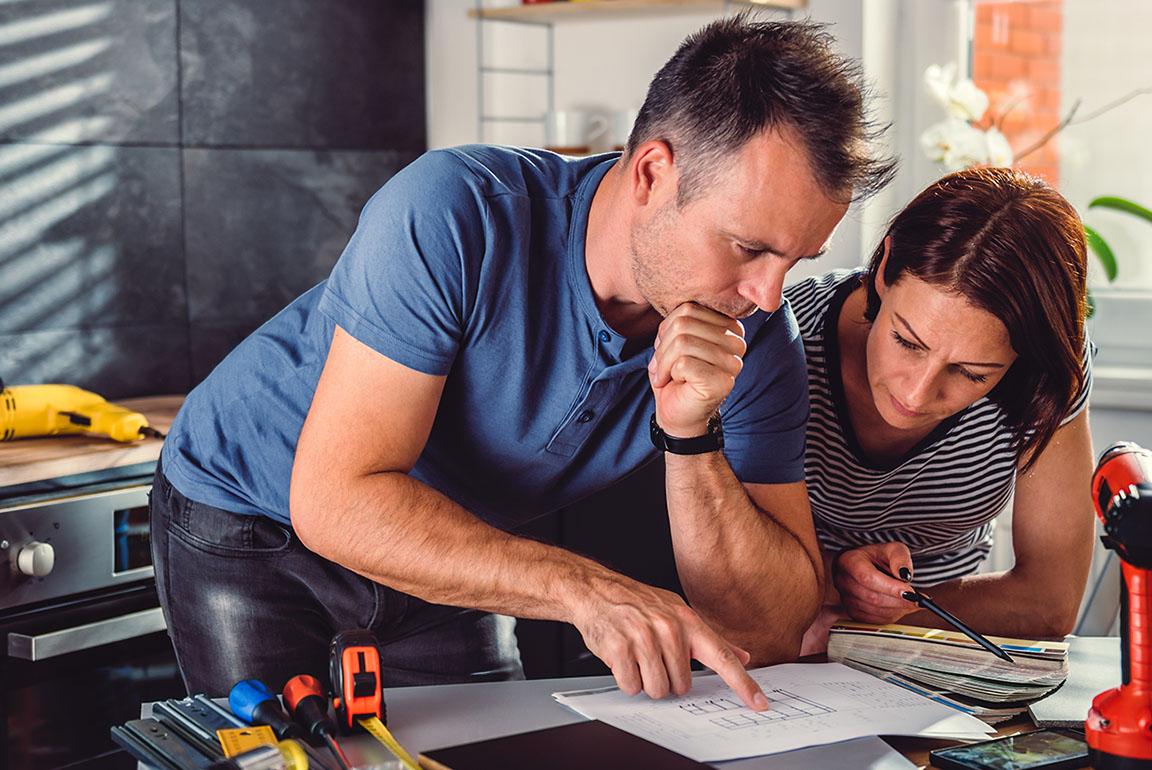 Finance a home renovation