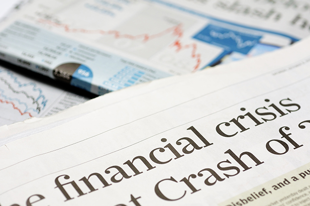 manage emotions while investing - financial crisis