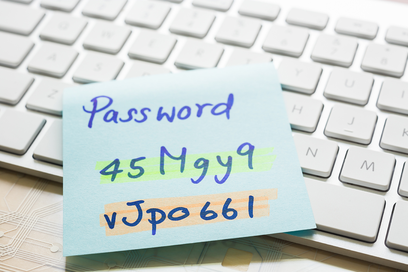 Pasword protection - Online fraud