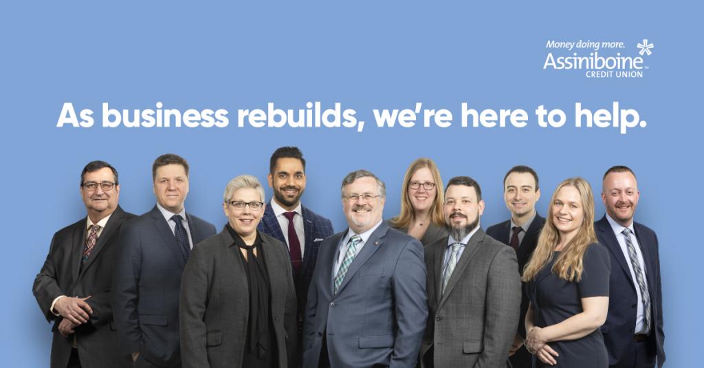 ACU's Business Financial Centre team