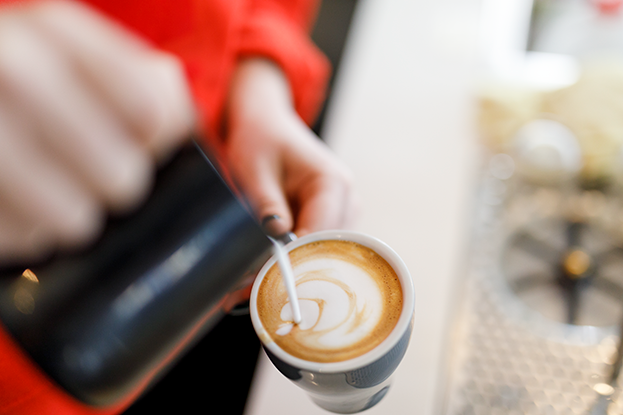 Support local coffee shops