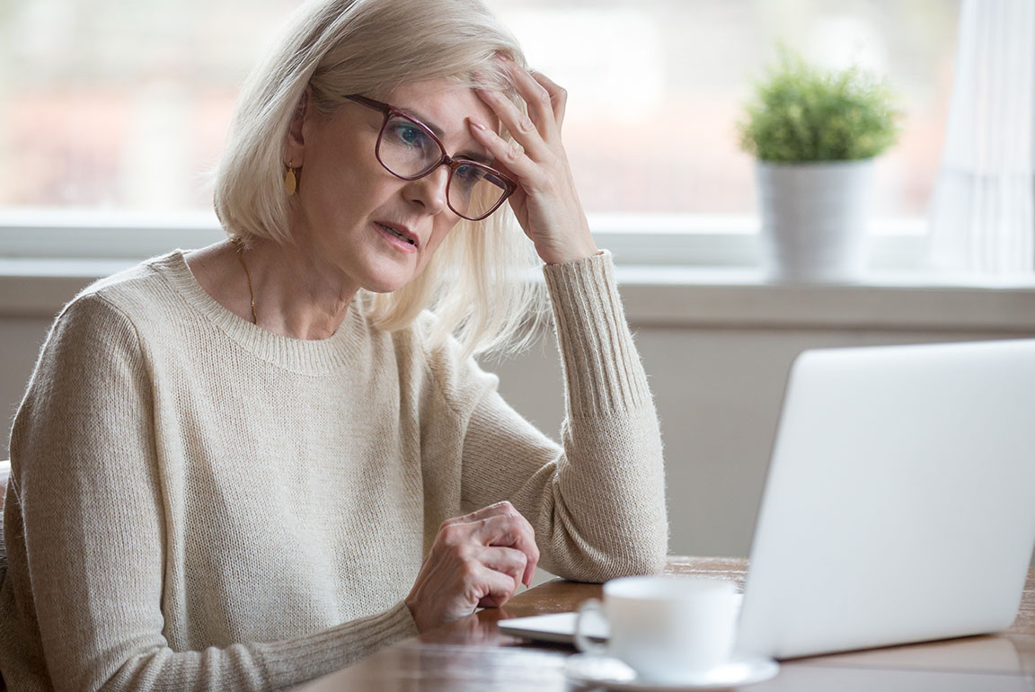 Woman concerned over retirement plans