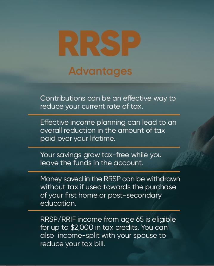 RRSP Advantages