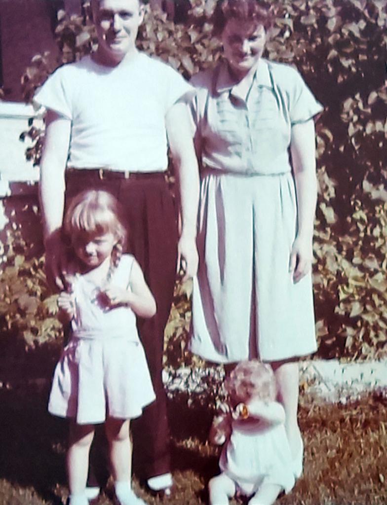 Ed McCaffrey and family