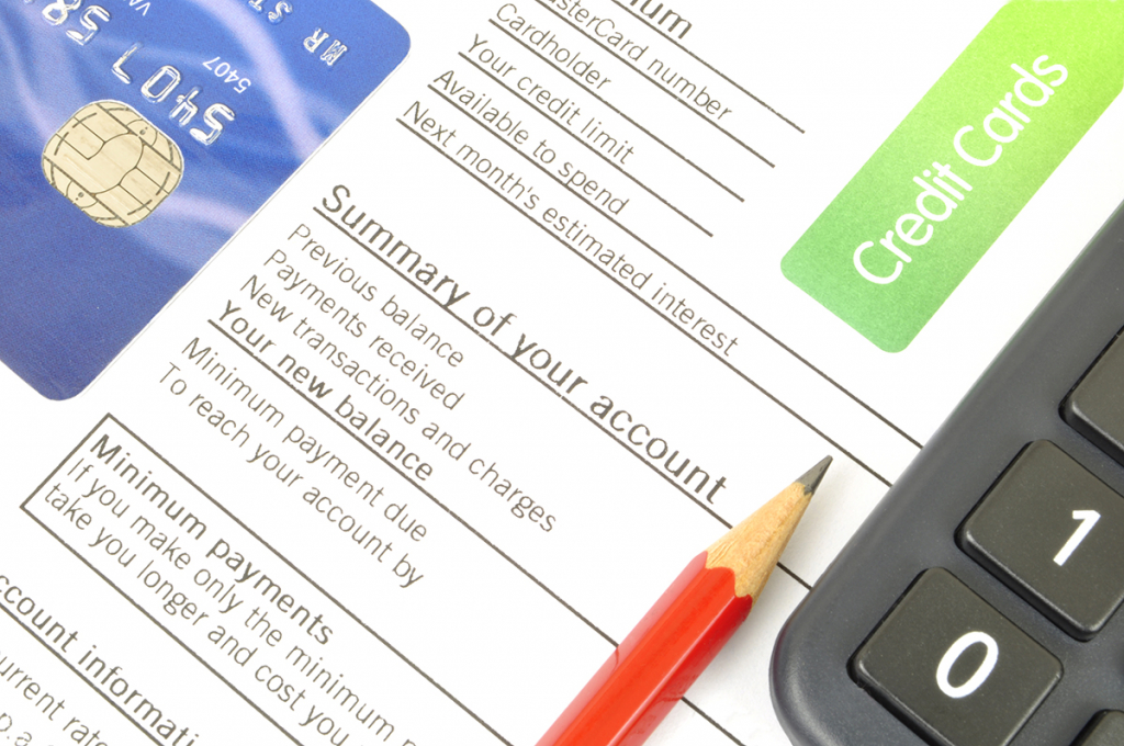 review your credit card statement