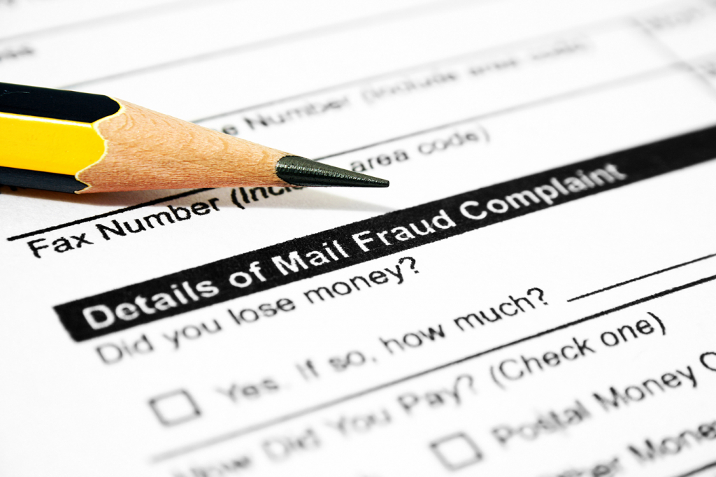 Mail fraud prevention tips