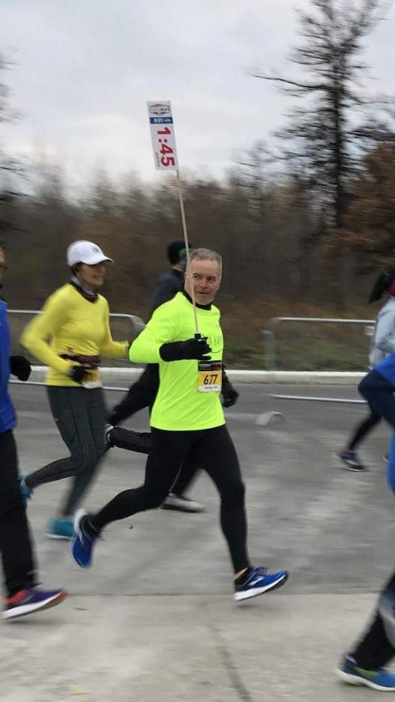 Dennis Cunningham running