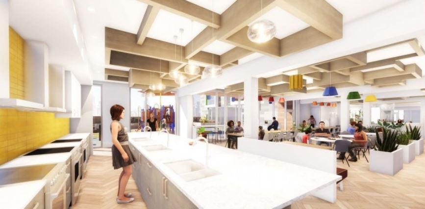 Ronald McDonald House Charities Manitoba - Concept interior space
