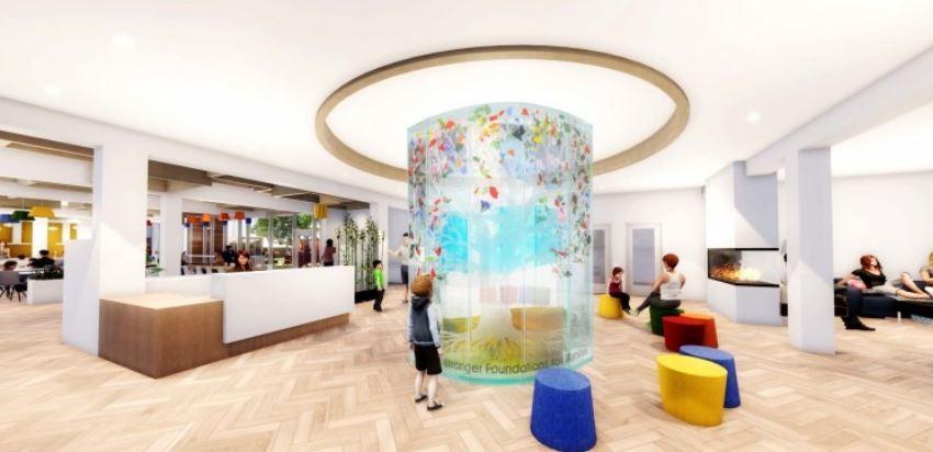 Ronald McDonald House Charities Manitoba - Concept interior