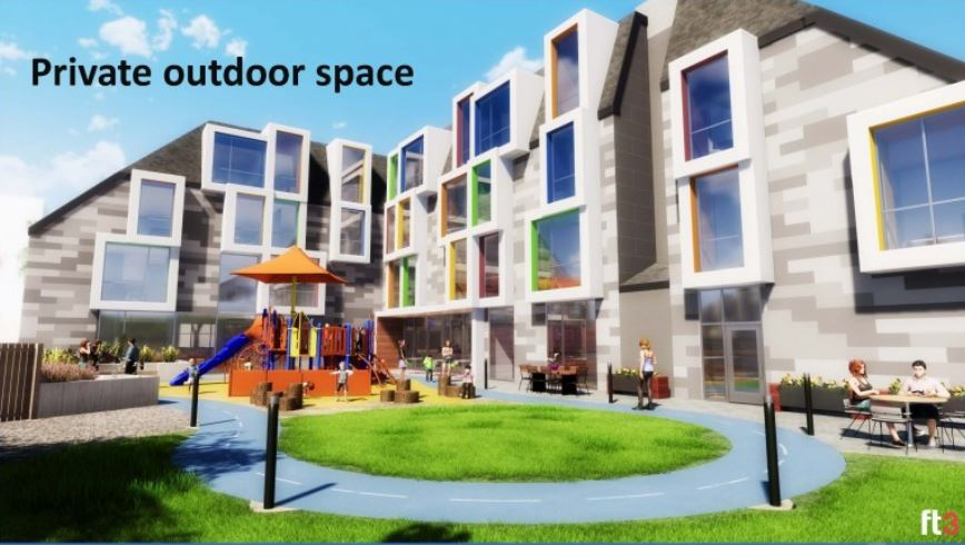 Ronald McDonald House Charities Manitoba - New private outdoor space