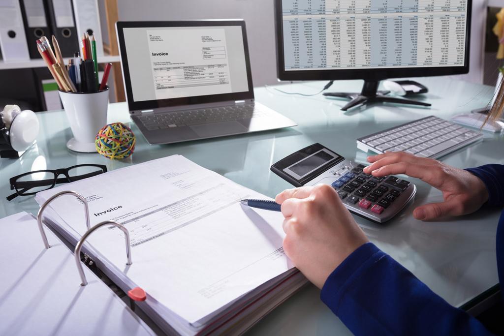 Business cash flow - Review open invoices