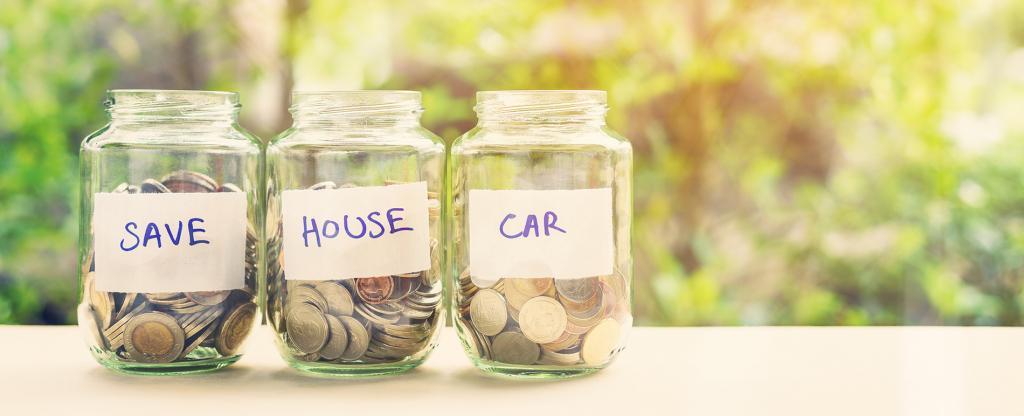 Save regularly - Secret budget tips