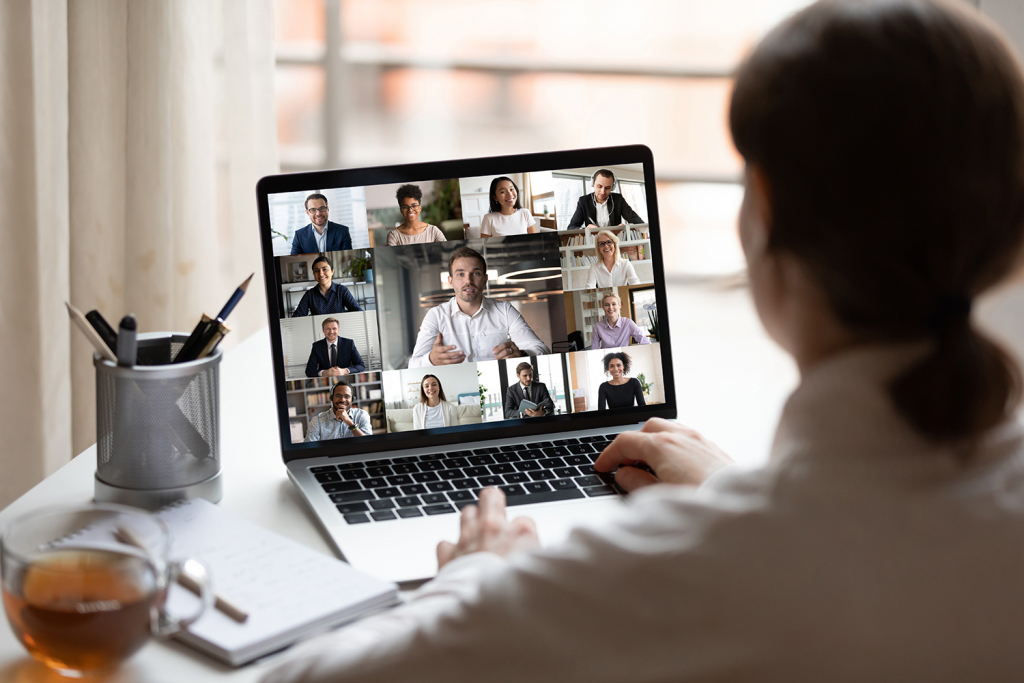 networking by zoom