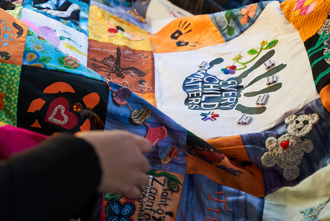 Blanket for change - Every Child Matters